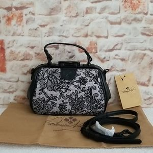 New Patricia Nash Chantilly Lace Antica Satchel